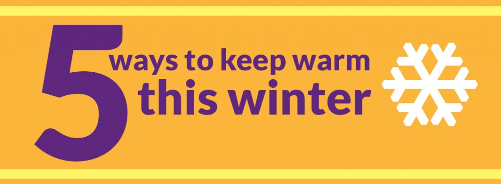 Infographic! Keep warm this winter