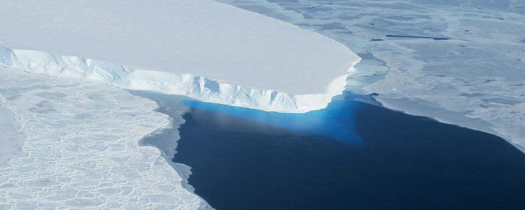 climate change - ice sheets melting