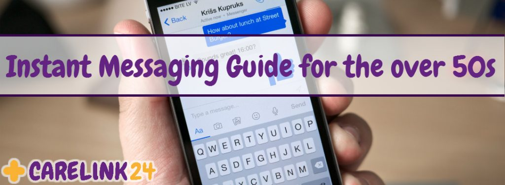 Instant Messaging Guide for the over 50s